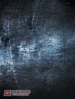 Blue Metal Texture Photography Backdrop