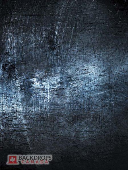 Blue Metal Texture Photography Backdrop