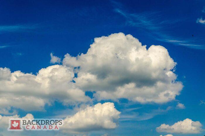 Cloud Sky Photography Backdrop