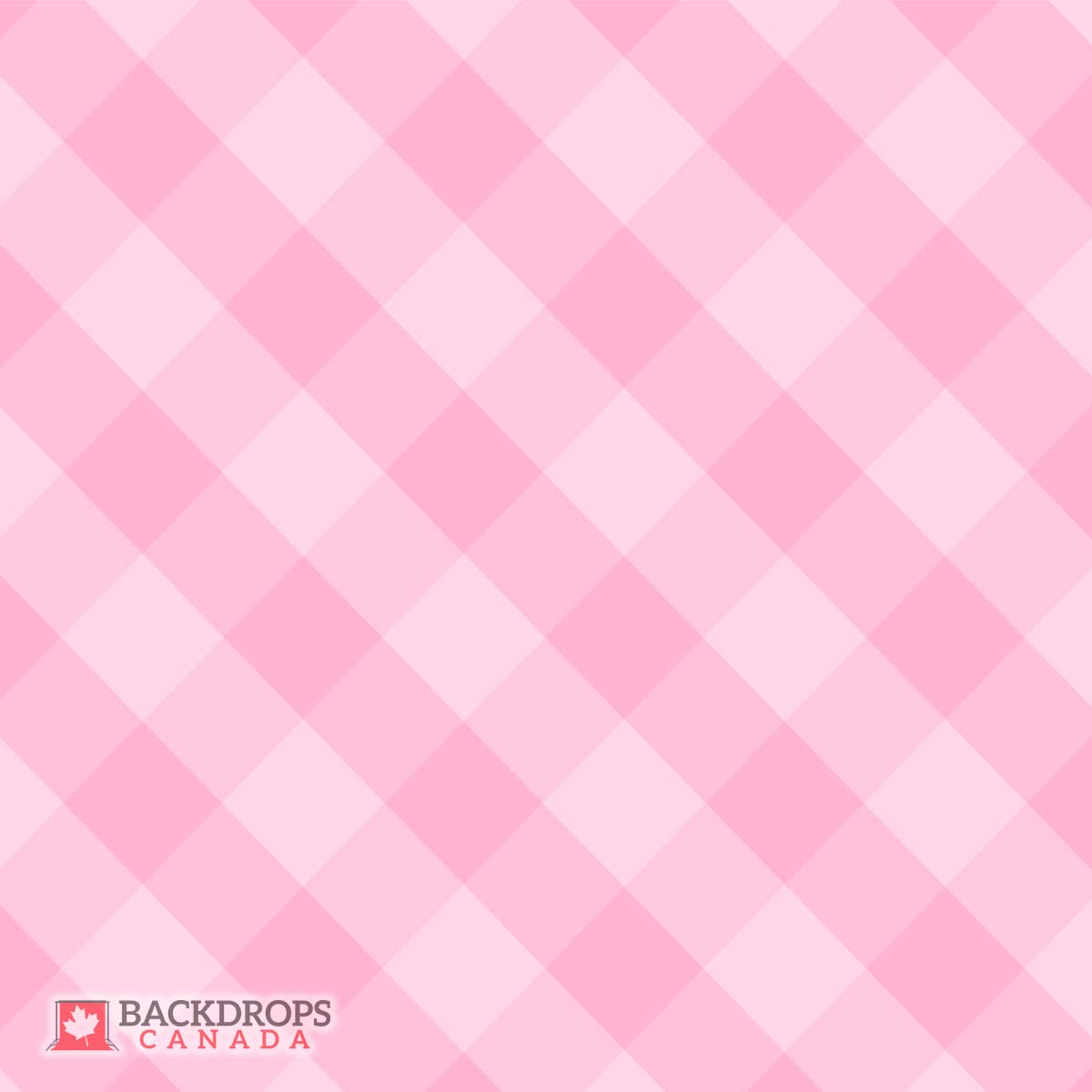 Pink Plaid Photography Backdrop