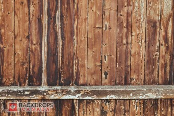 Distressed Wood Panel Photography Backdrop