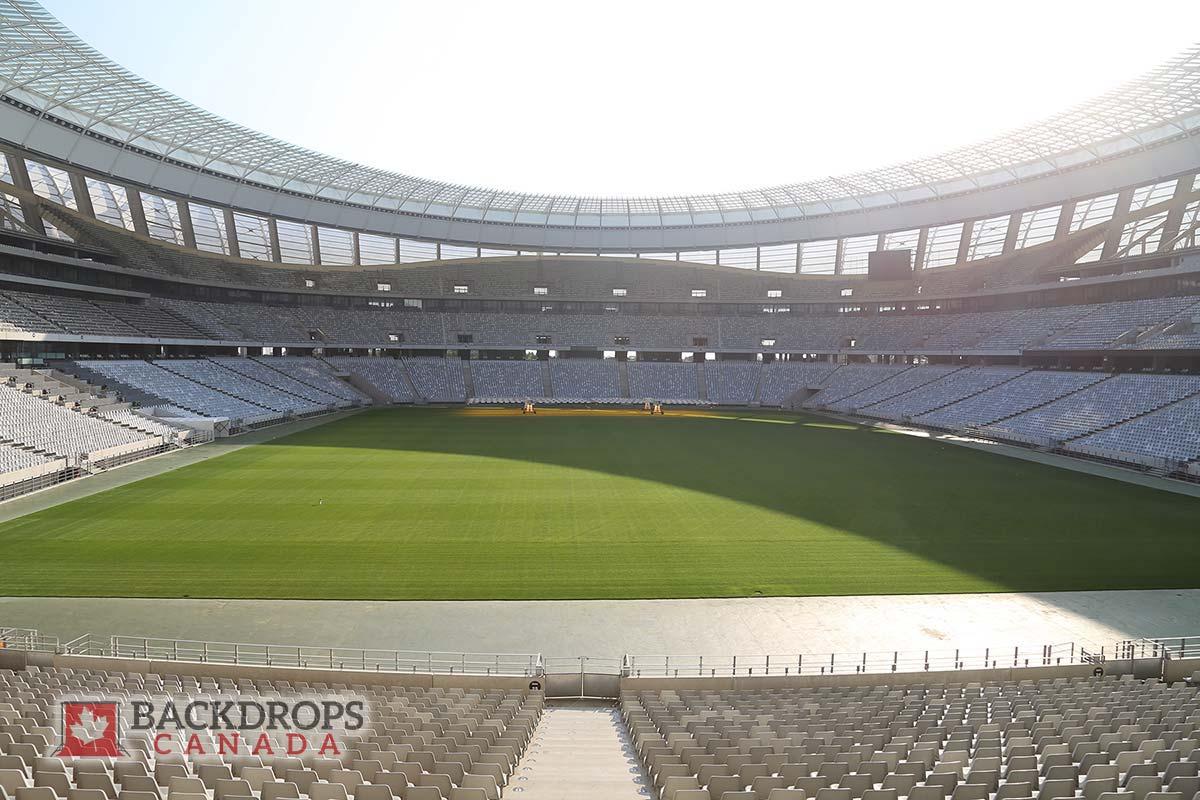 Football Stadium Photography Backdrop