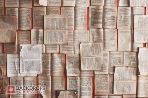 Lots of Open Books Photography Backdrop