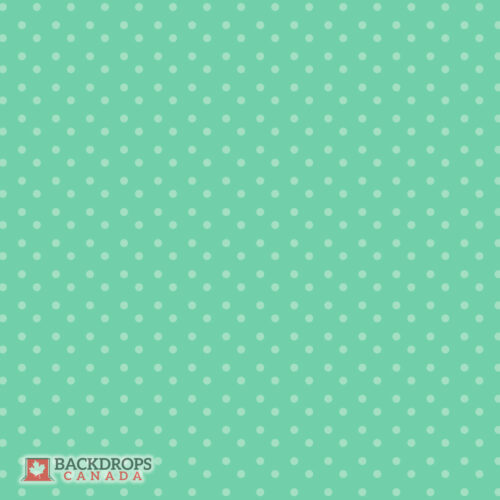 Green Polka Dot Photography Backdrop