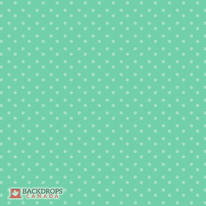 Green Polka Dot Photography Backdrop