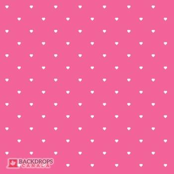 Polka Hearts Pink
