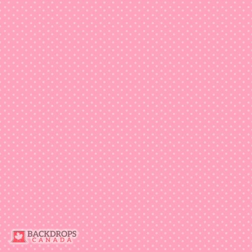 Polka Dot pInk Photography Backdrop