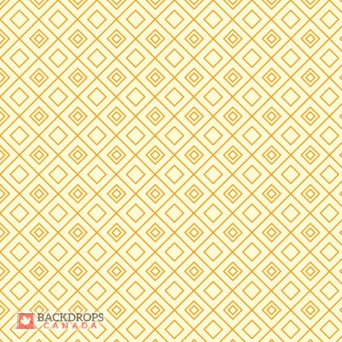 Retro Yellow Diamond Photography Backdrop