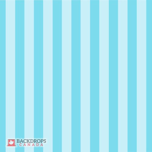 Blue Stripes Photography Backdrop