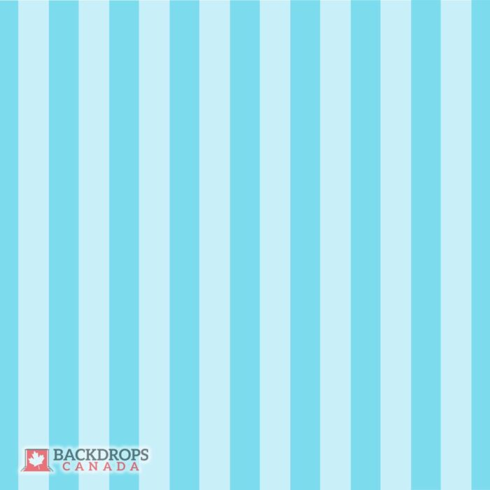 Blue Stripes Photography Backdrop