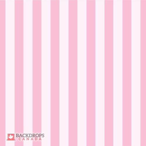 Pink Stripes Photography Backdrop