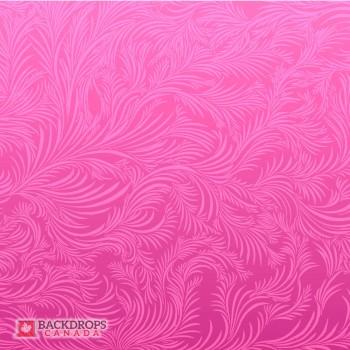 Waving Pink Floral
