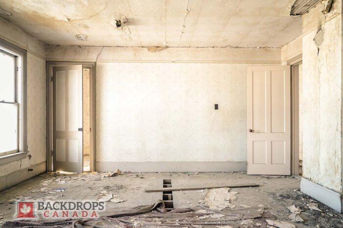 White Broken Room Photography Backdrop