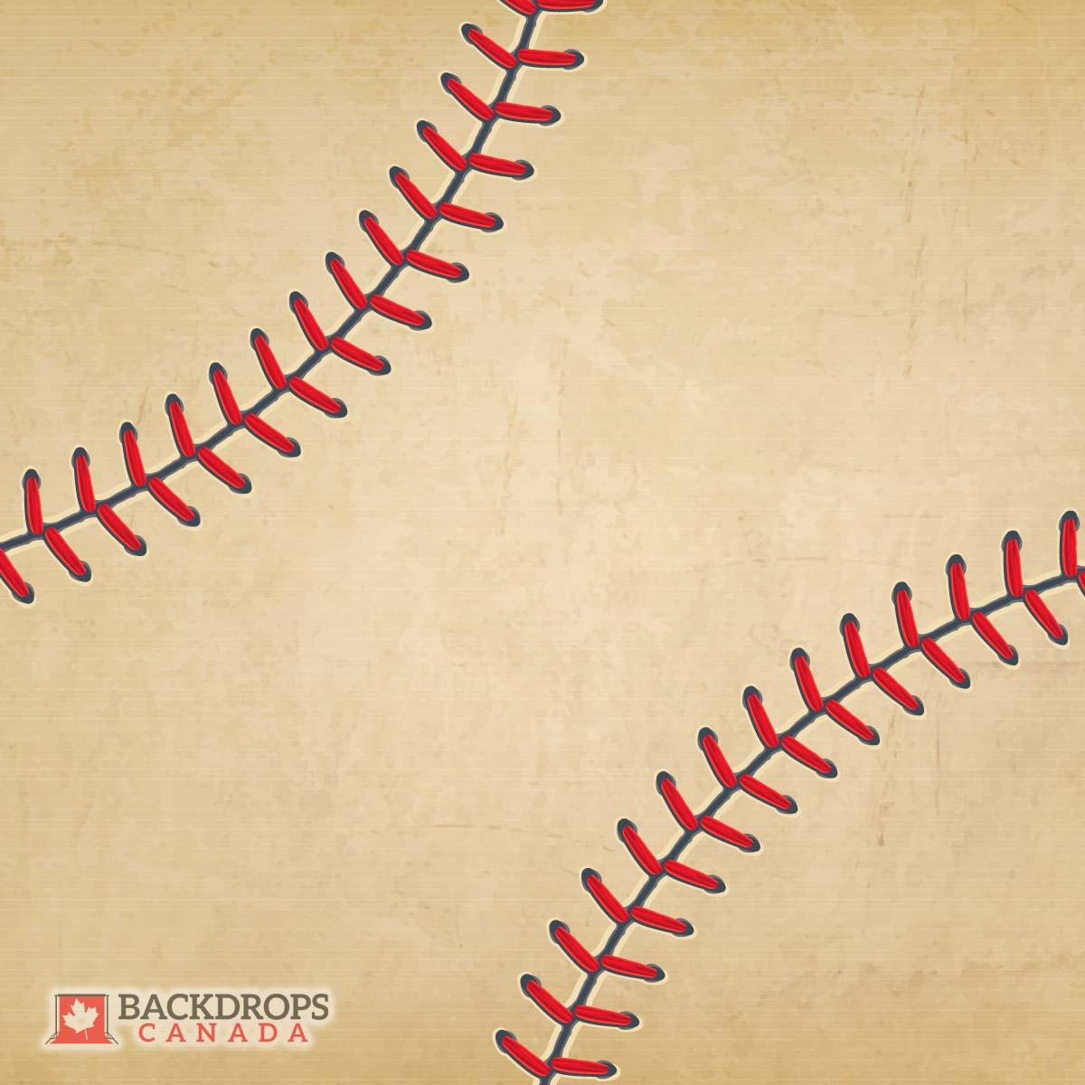 Baseball themed Photography Backdrop
