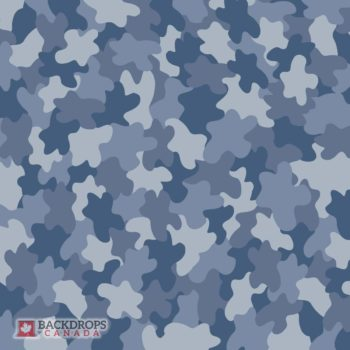 Blue Camo Photography Backdrop