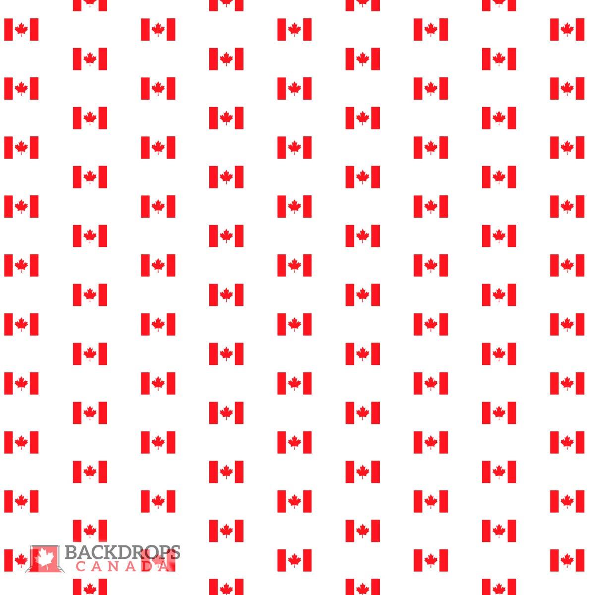Canada Flag Media Wall