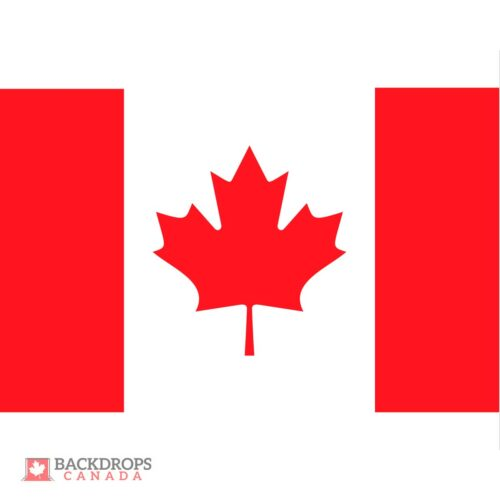 Canada Flag Photography Backdrop
