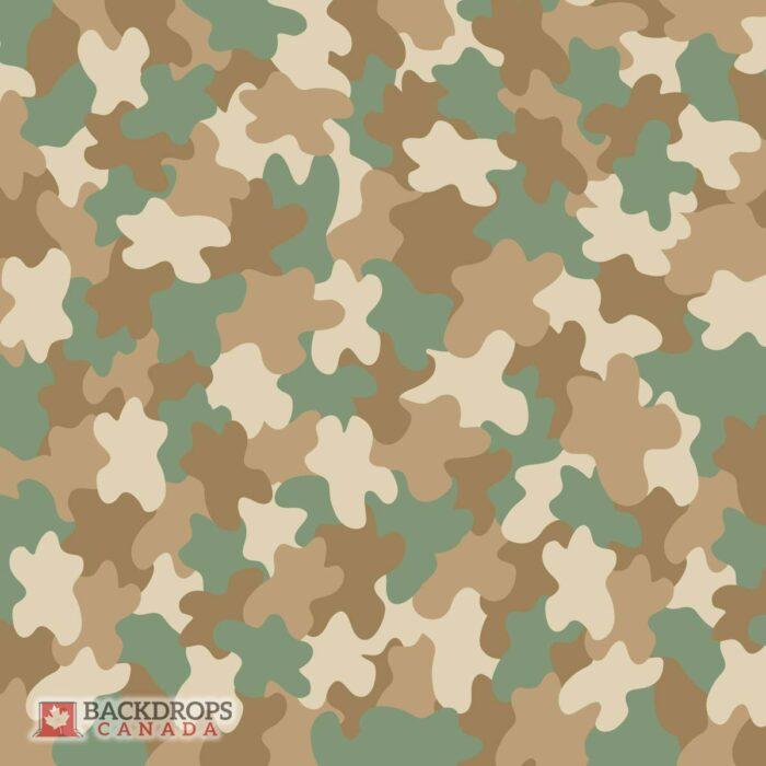 Army Camo Photography Backdrop