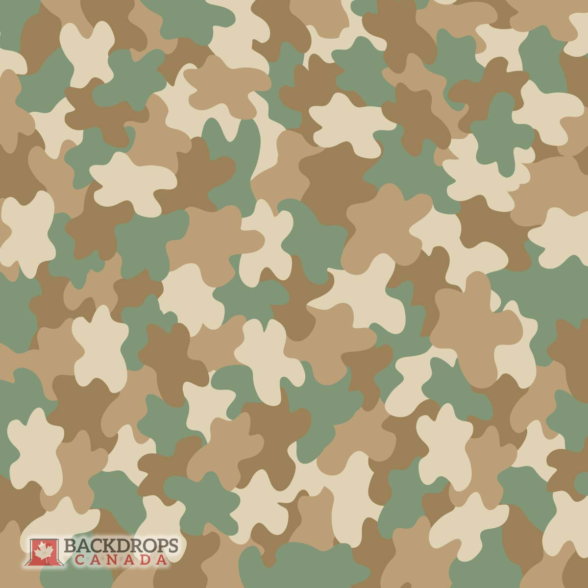 Army Camo Photography Backdrop