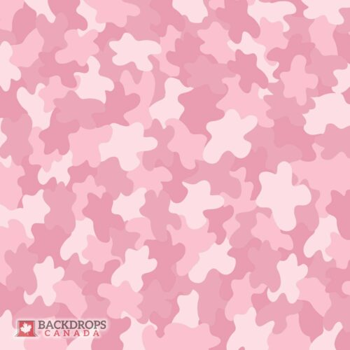 Pink Camo Photography Backdrop