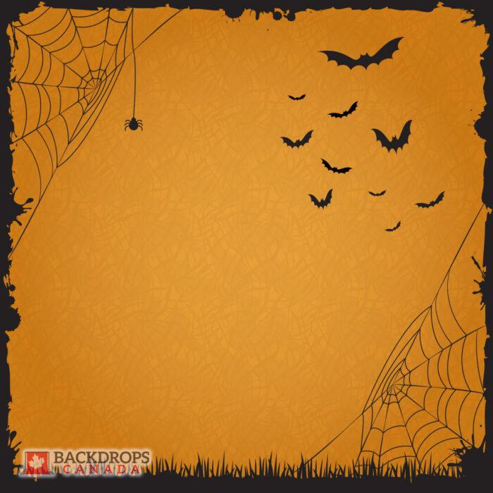 Halloween Orange Photography Backdrop