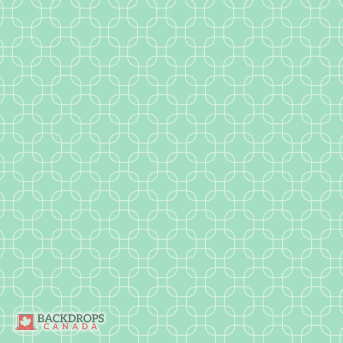 Mint Green Squared Pattern Photography Backdrop