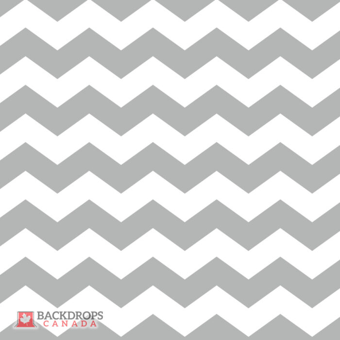 Chevron Grey Photography Backdrop