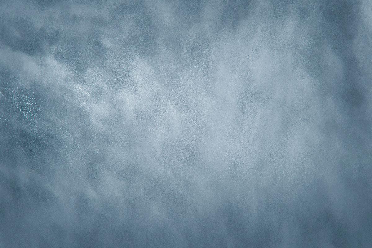 Blue Grey Iron Floordrop