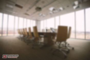 Blurred Conference Room Photography Backdrop