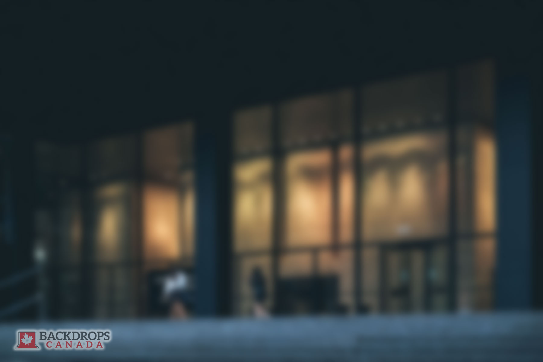 Blurred Courthouse Photography Backdrop