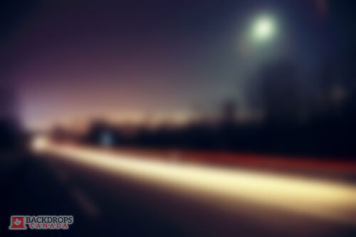 Blurred Road Photography Backdrop