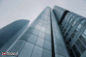 Blurred Skyscraper Photography Backdrop