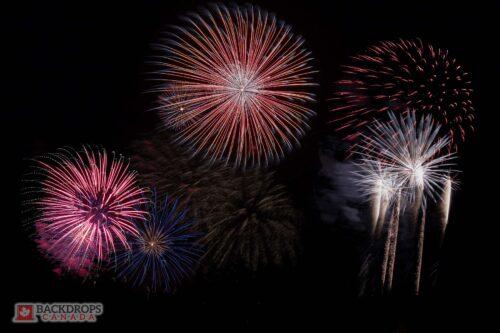 Fireworks Photography Backdrop