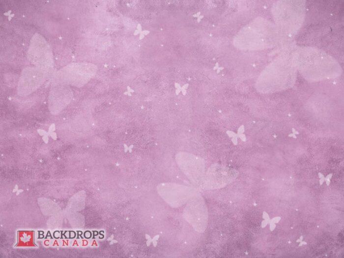 Purple Backdrop featuring Butterfly