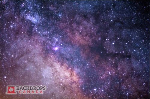 Amethyst Galaxy Space Photography Backdrop