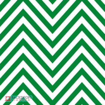 Chevron Christmas Green Mini