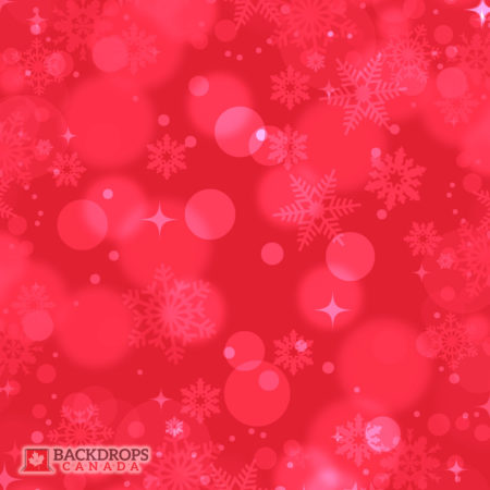 Christmas Red Bokeh Photography Backdrop