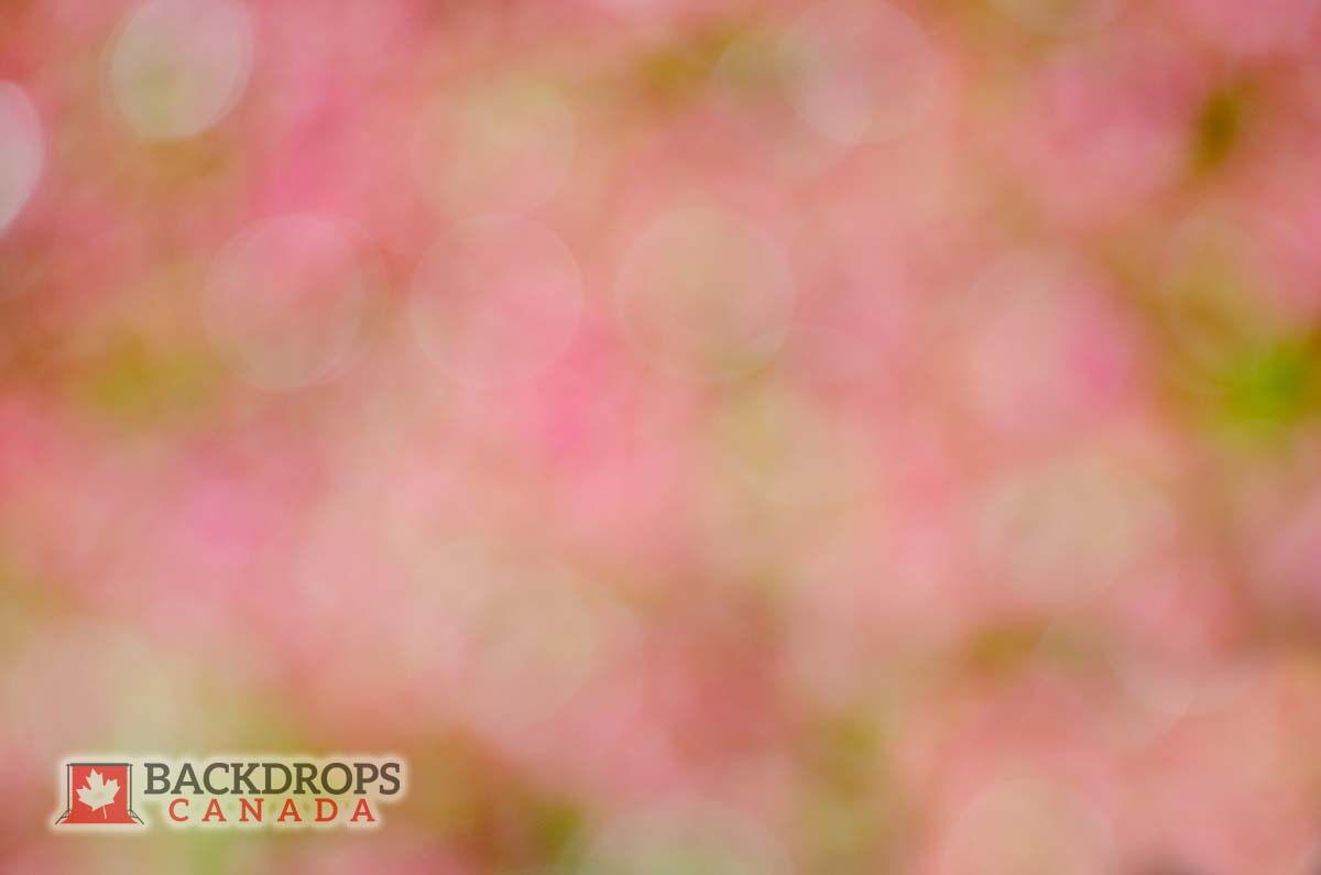 Garden Soft Bokeh Photography Backdrop
