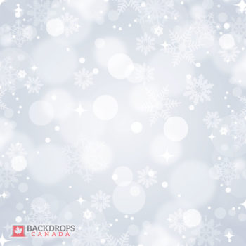 Bokeh Winter Grey Photography Backdrop