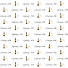 40th Birthday Champagne Photography Backdrop Step & Repeat