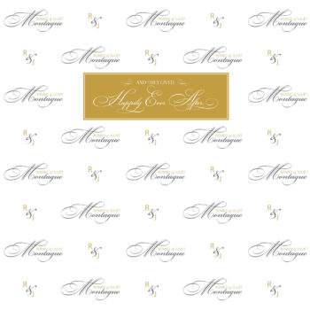 Wedding Step & Repeat Backdrop