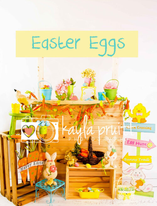Easter Stand Photography Backdrop
