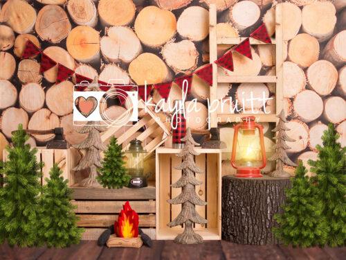 Lumberjack Photography Backdrop