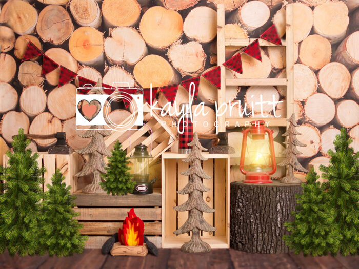 Lumberjack Photography Backdrop