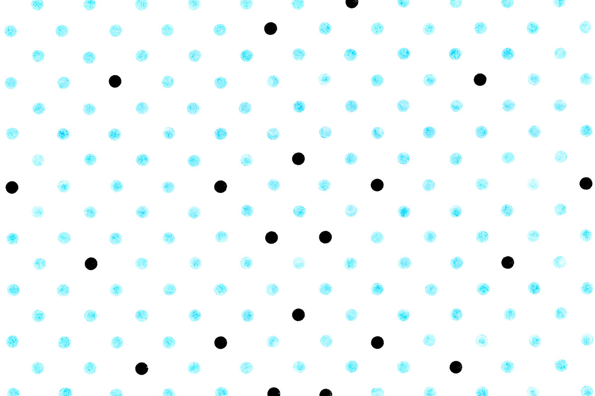 Blue & Black Grunge Dots Photography Backdrop