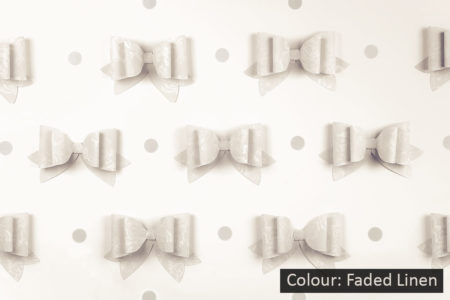 French Bows Faded Linen Photography Backdrop