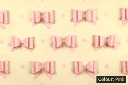 French Bows Pink Photography Backdrop
