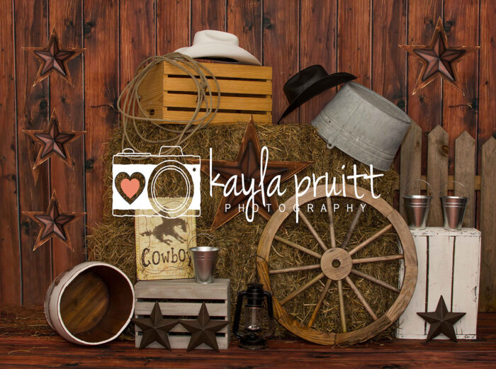 Country Themed Photography Backdrop