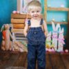 Easter Mini Session with Backdrop & wooden floordrop