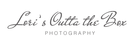 Lori's Outta the Box Photography Logo
